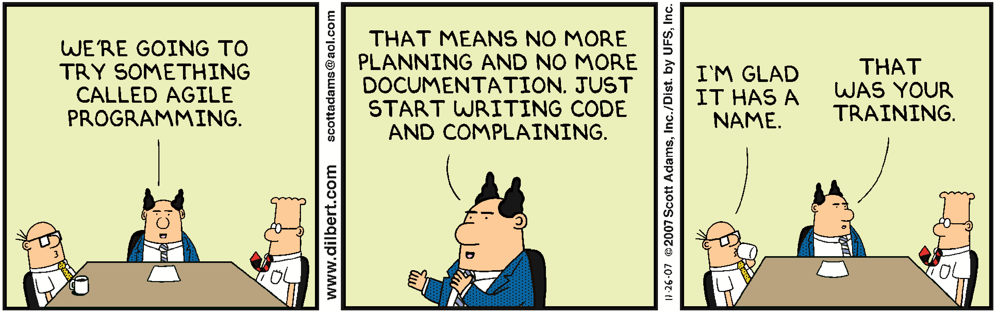 Dilbert-Agile-Project-Management